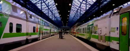 Juna on vihrein valinta