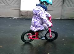 Pyöräilyä