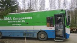 Metsämarket Oy kauppa-auto