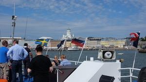 Iha-lines Helsinki mereltä
