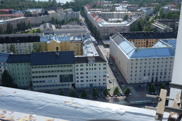 Taka-Töölö stadionin tornista