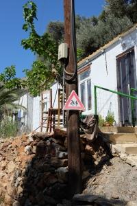Kreetalaiseen kylään saavuttaessa