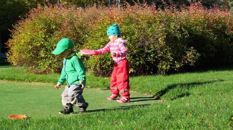 Sikaranta frisbee golf lapset
